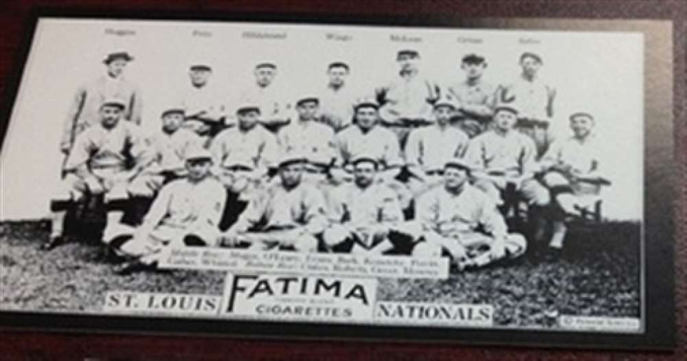1913 T200 Fatima Reprint St. Louis Cardinals Team Card MINT