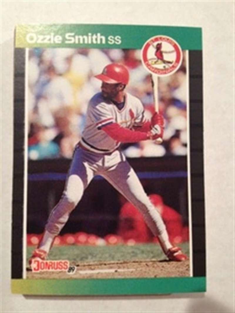 1989 Donruss St. Louis Cardinals Team Set MINT