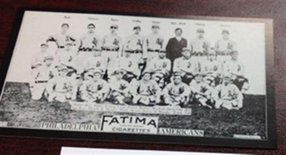 1913 T200 Fatima Reprint Philadelphia Athletics Team Card