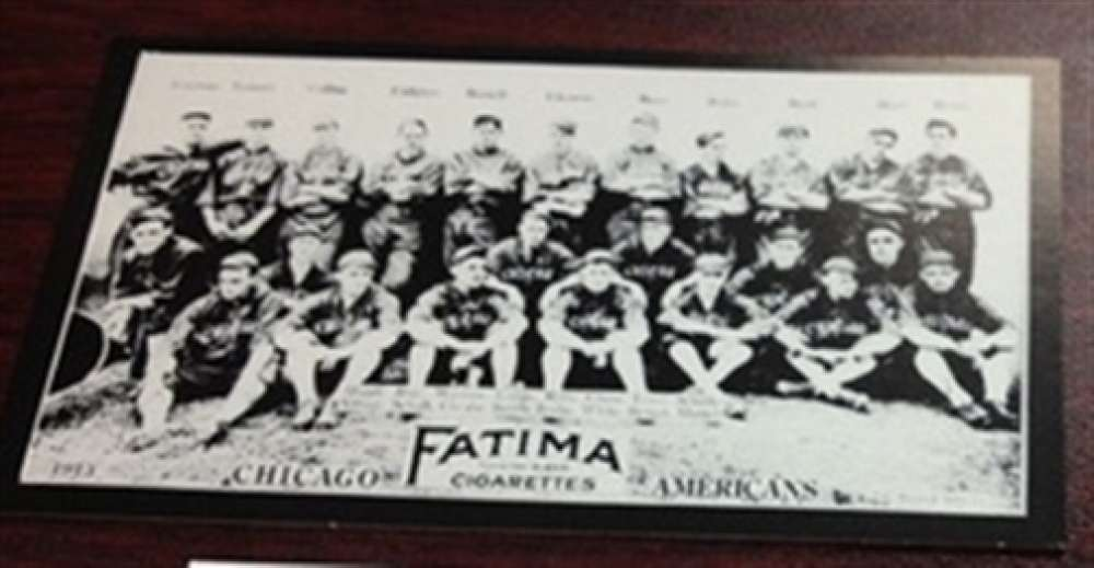 1913 T200 Fatima Reprint Chicago White Sox Team Card Collins MINT
