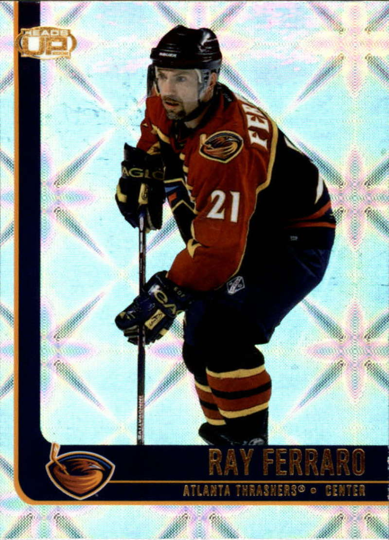 2001-02 Pacific Heads Up Atlanta Thrashers Team Set 3 Cards