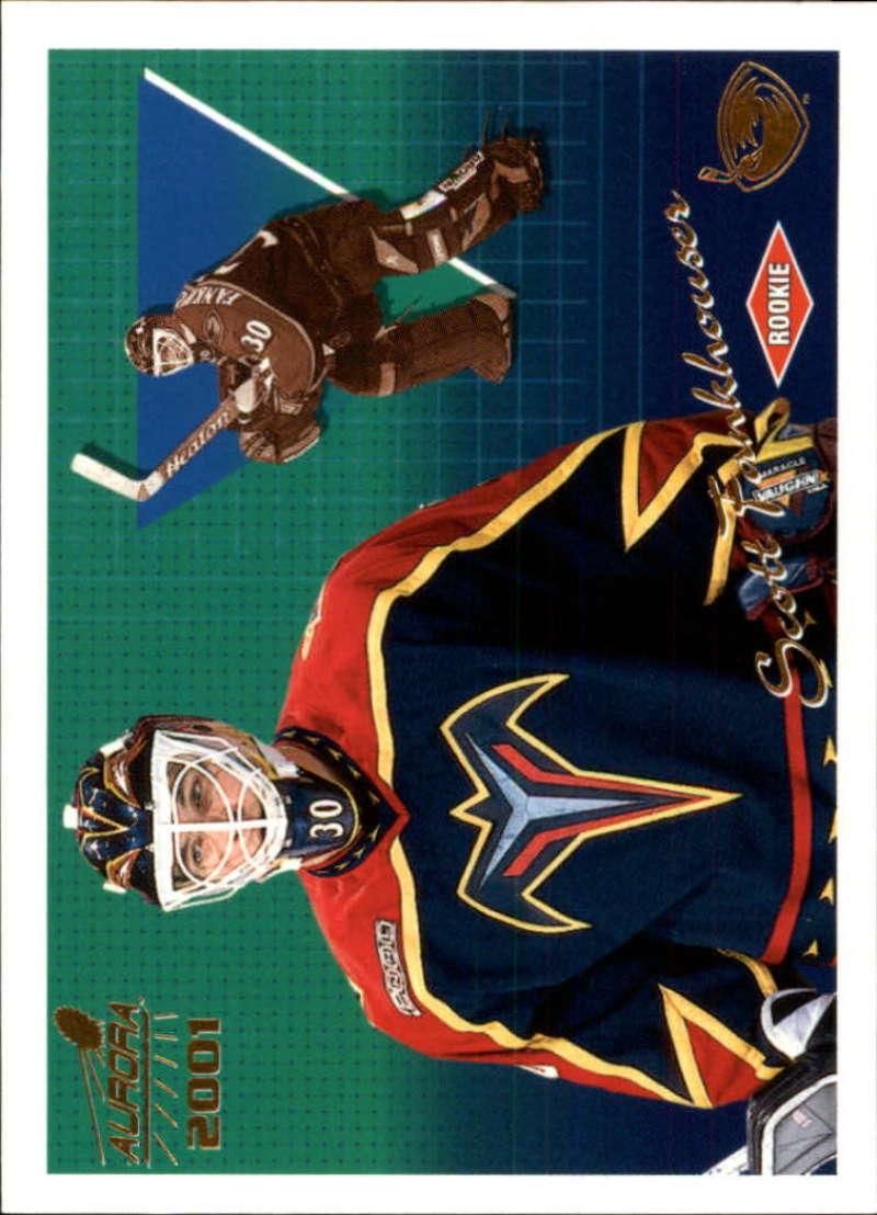 2000-01 Pacific Aurora Atlanta Thrashers Team Set 4 Cards