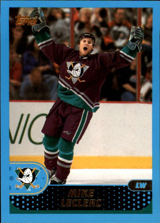 2001-02 Topps Anaheim Ducks Team Set 8 Cards