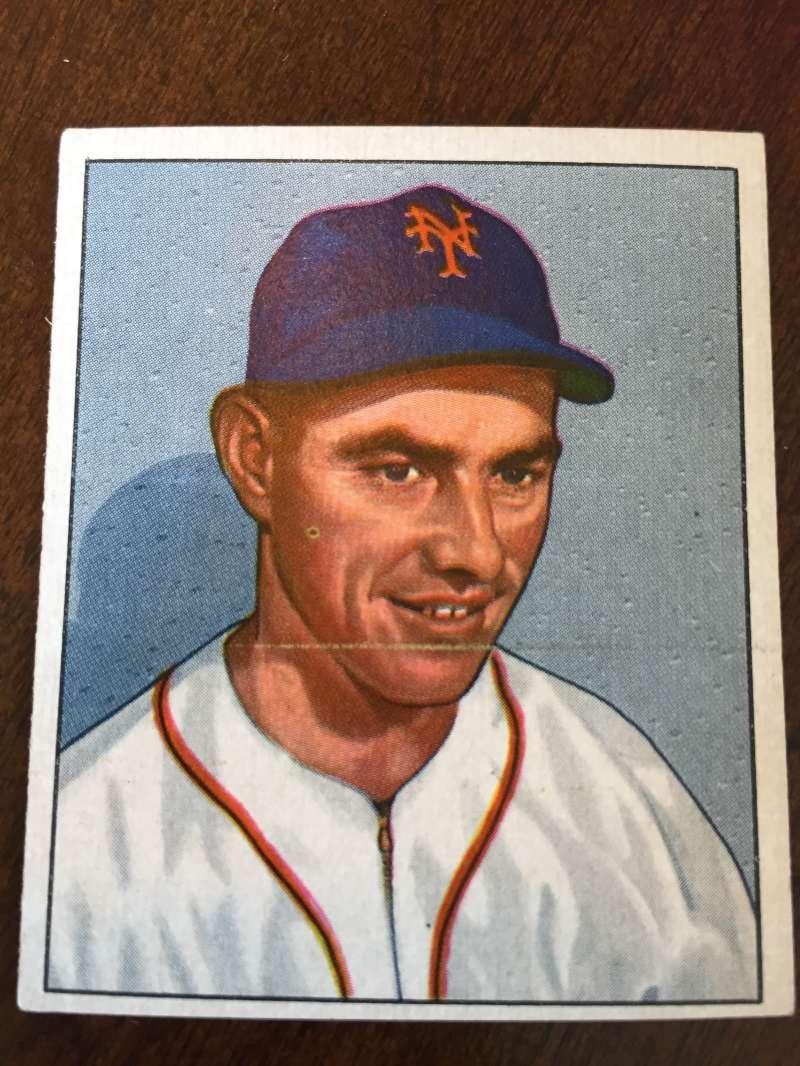 1950 Bowman #175 Monte Kennedy New York Giants VG A217