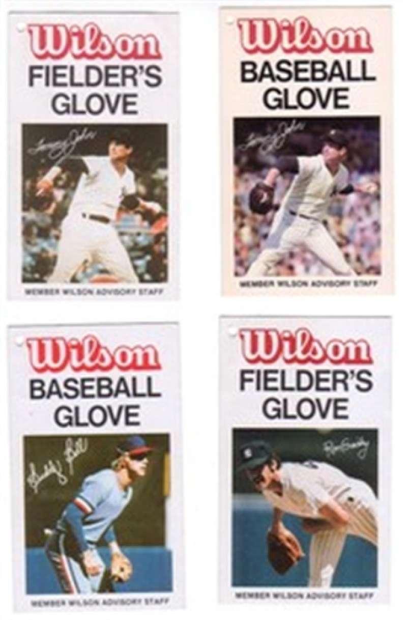 BUDDY BELL Wilson Fielder's Glove Advisory Card Texas Rangers