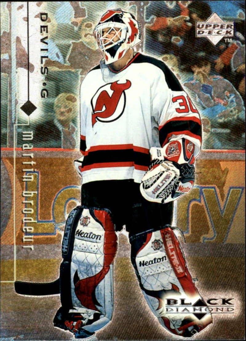 1998-99 Black Diamond New Jersey Devils Team Set No SP 3 Cards Martin Brodeur MINT