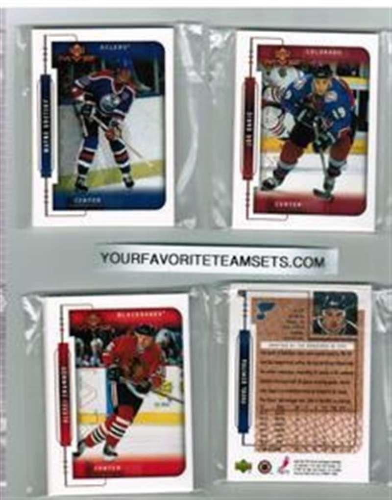 1999-00 Upper Deck UD MVP Florida Panthers Team Set 8 Cards Pavel Bure MINT