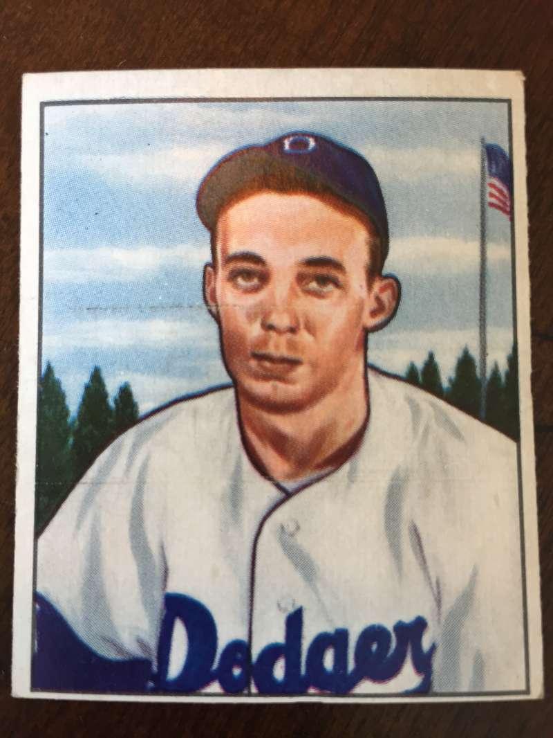 1950 Bowman #224 Jack Banta Brooklyn Dodgers VG A273