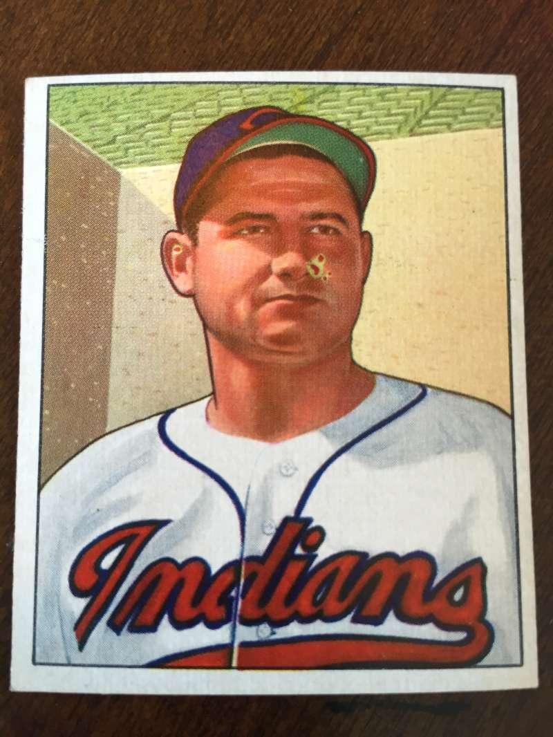 1950 Bowman #148 Early Wynn Cleveland Indians VG/EX A161