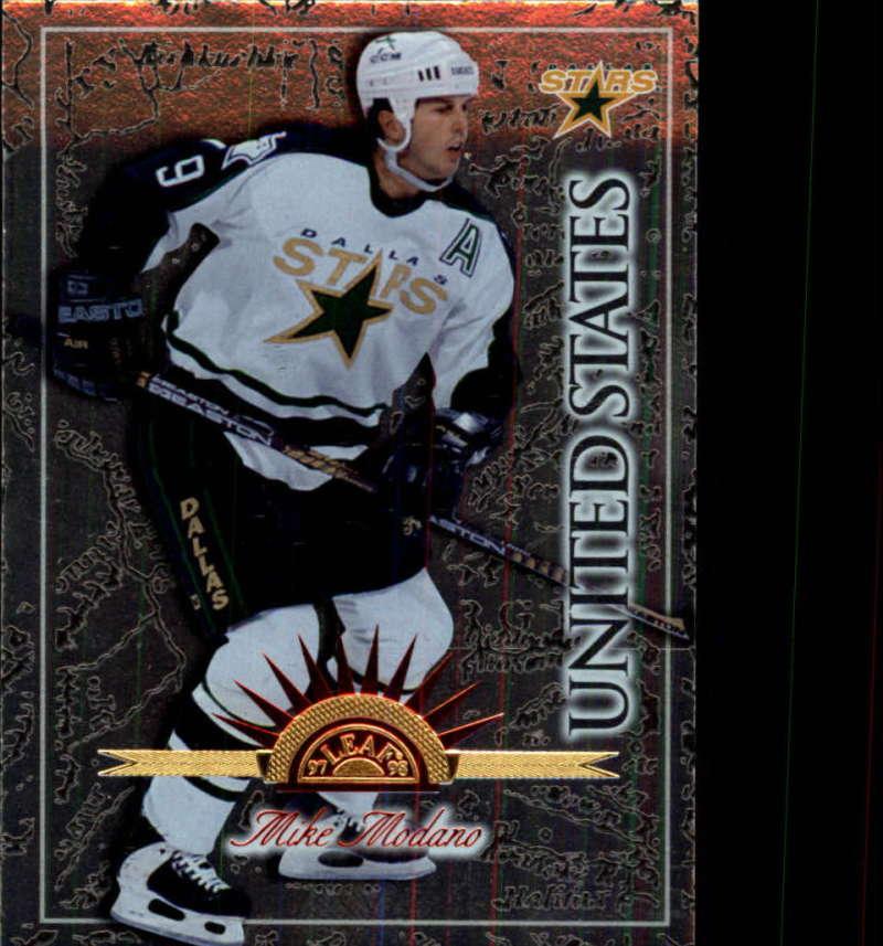 1997-98 Leaf International Dallas Stars Team Set 8 cards Mike Modano