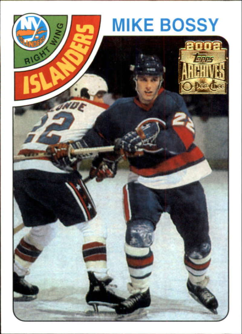 2001-02 Topps Archives New York Islanders Team Set 7 Cards