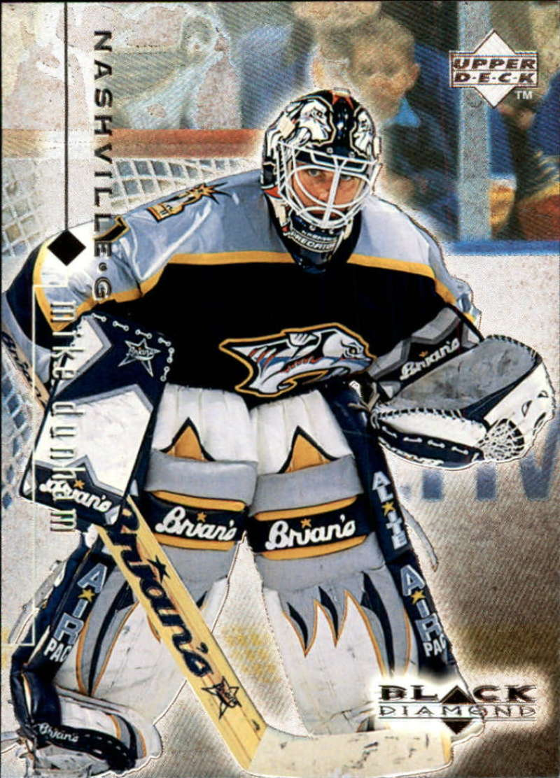 1998-99 Black Diamond Nashville Predators Team Set No SP 2 Cards