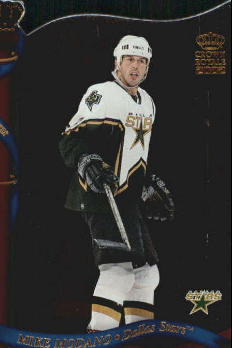 2001-02 Crown Royale Dallas Stars Team Set 5 Cards Mike Modano (#46-50)