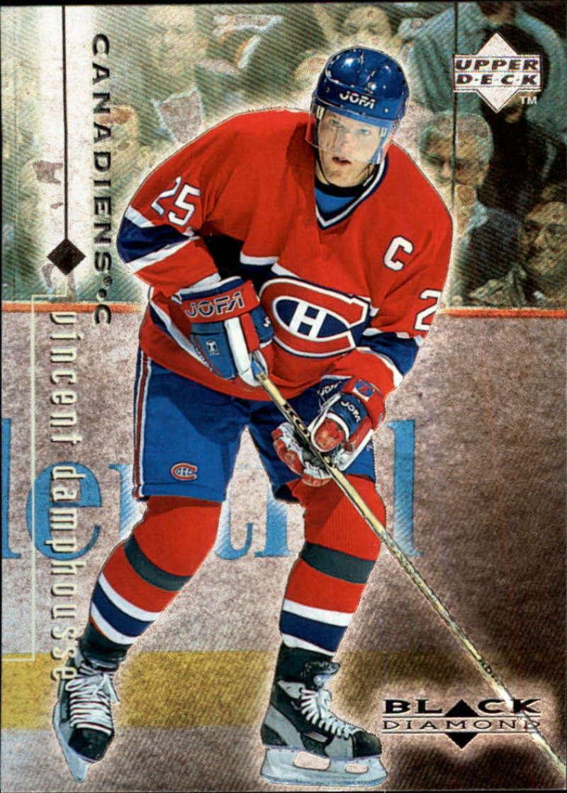 1998-99 Black Diamond Montreal Canadiens Team Set No SP 4 Cards Koivu