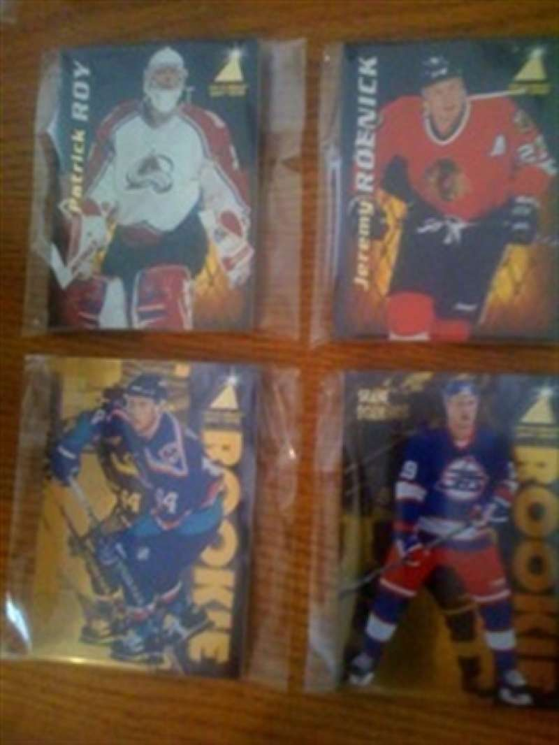 1995-96 Zenith Los Angeles Kings Team Set Wayne Gretzky 9 Cards MINT