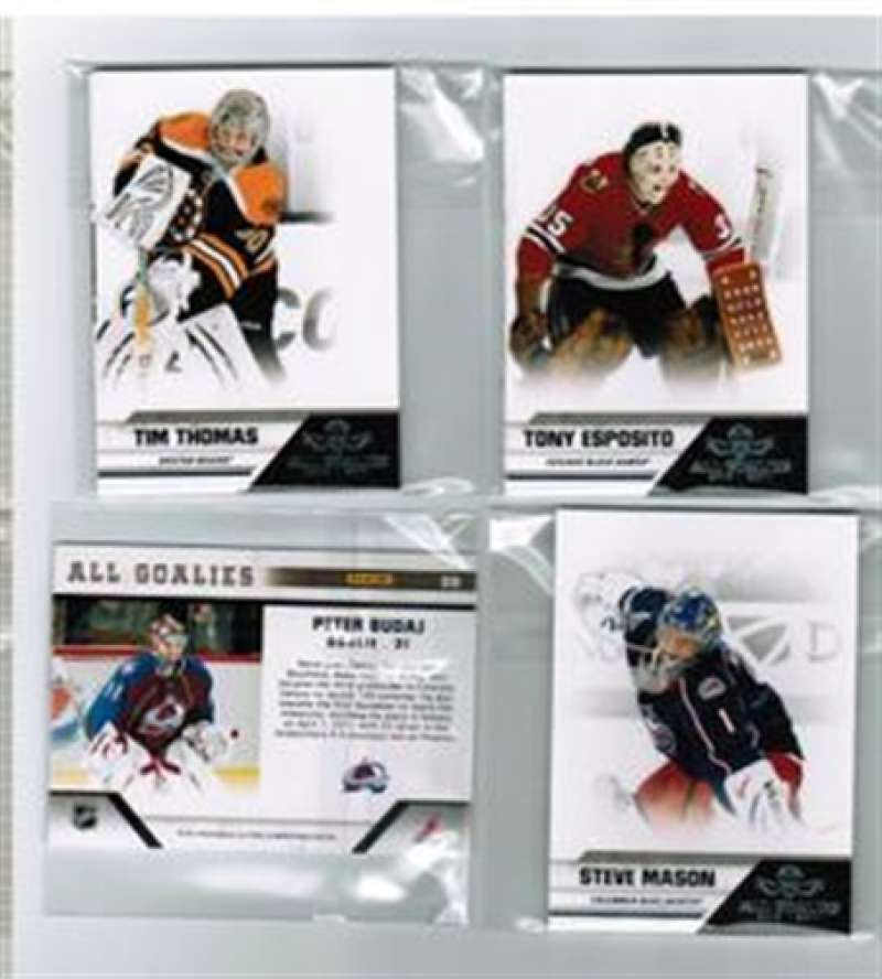 2010-11 Panini All Goalies Atlanta Thrashers Team Set 3 Cards
