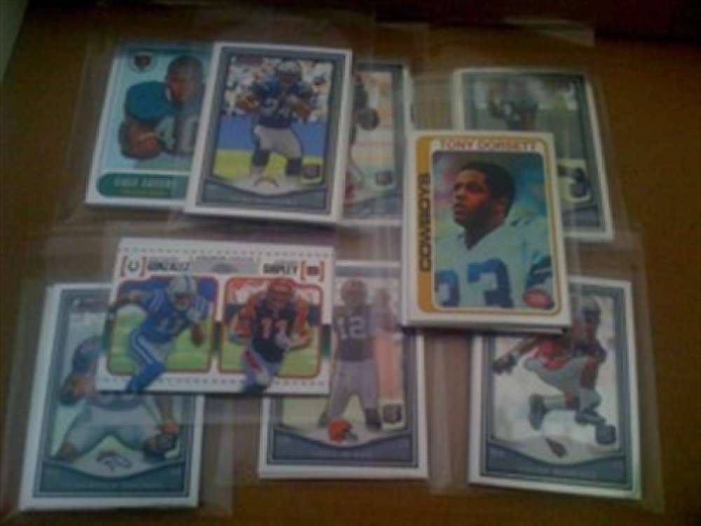 2010 Topps Chrome Inserts Colts Team Lot 5 Cards Manning