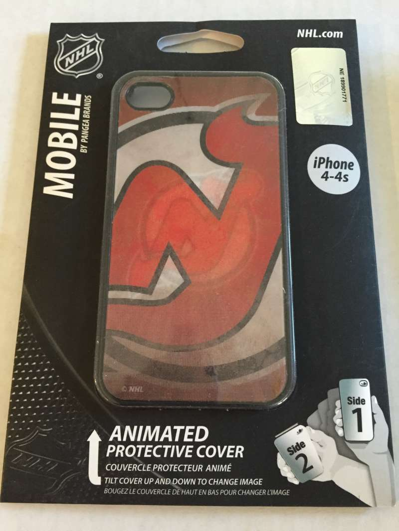 Iphone 4 4S Hardshell Protection Case with Style New Jersey Devils Pangea Brands