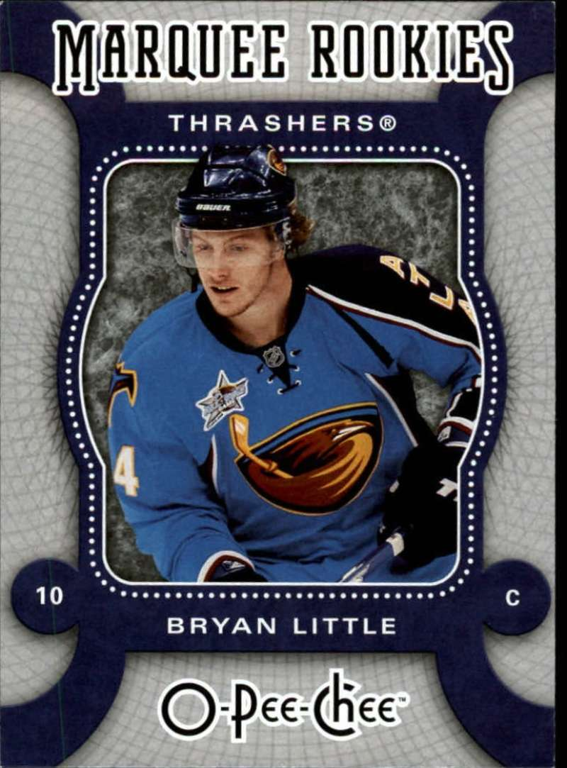 2007-08 O-Pee-Chee OPC with SP,RC Atlanta Thrashers Team Set 19 Cards Bryan Little RC