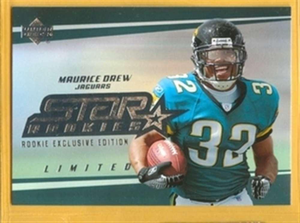2006 Upper Deck 214 Maurice Drew Jaguars SP Rookie Exclusive Edition Mint
