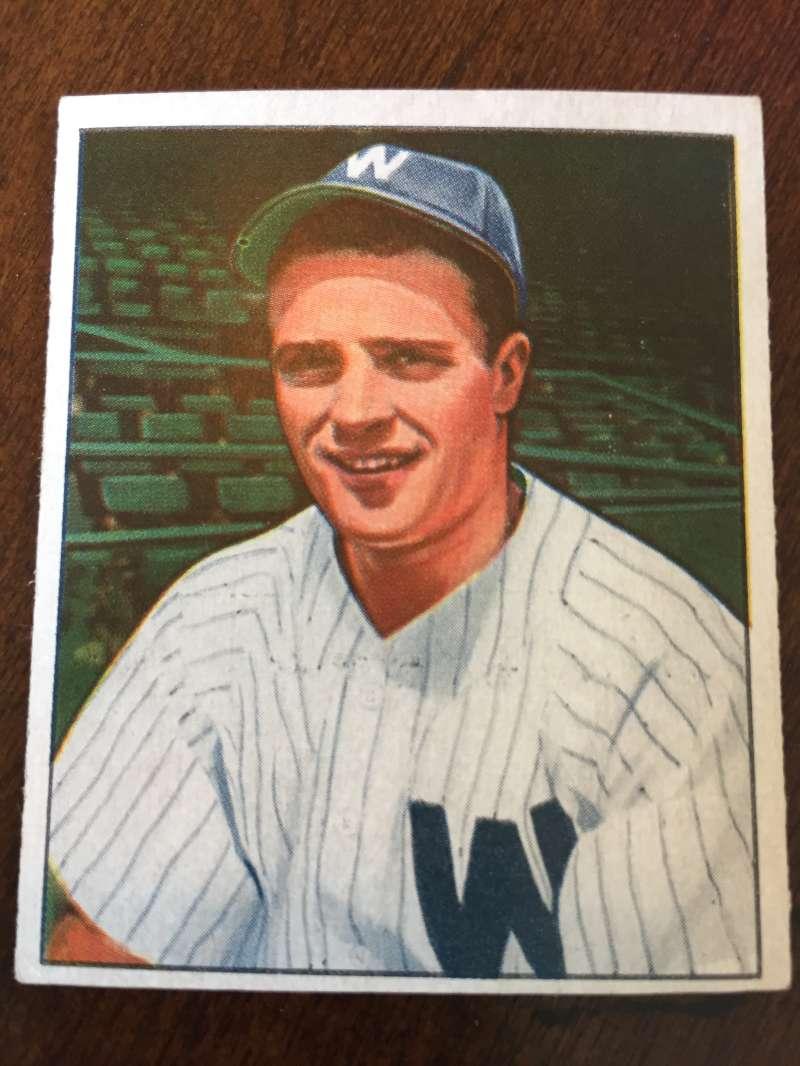 1950 Bowman #162 Eddie Yost Washington Senators ExMt A197
