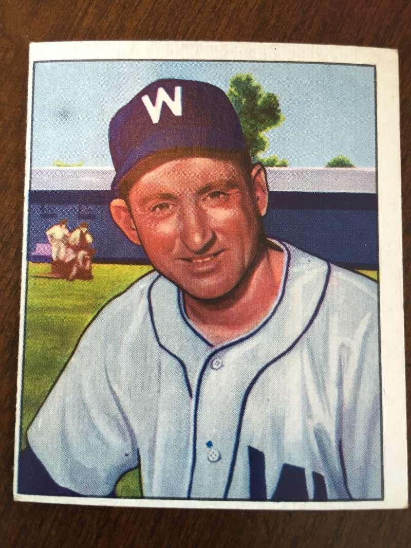 1950 Bowman #108 Rae Scarborough Washington Senators EX A99