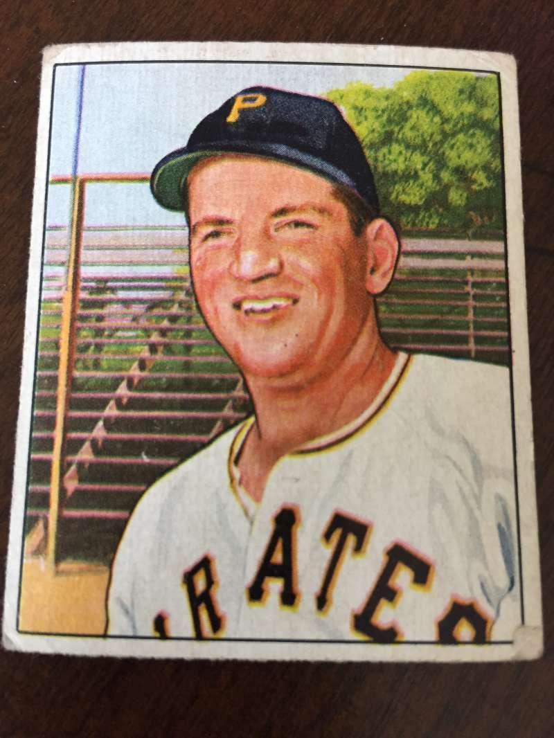 1950 Bowman #69 Wally Westlake Pittsburgh Pirates G/VG A43