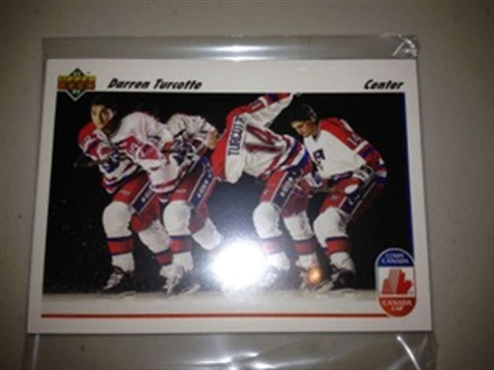 1991-92 Upper Deck Canada Cup USA TEAM MINT