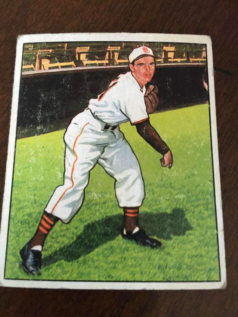 1950 Bowman #51 Ned Garver St. Louis Browns Good A25