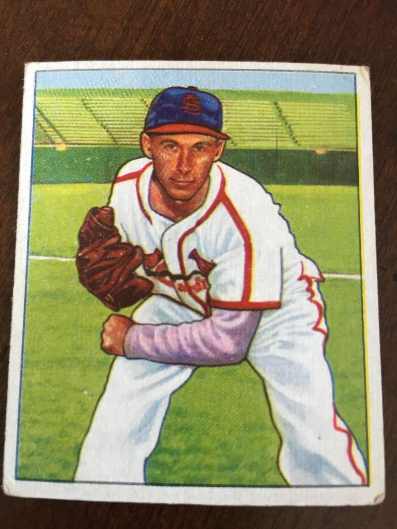 1950 Bowman #90 Harry Brecheen Cardinals VG A73