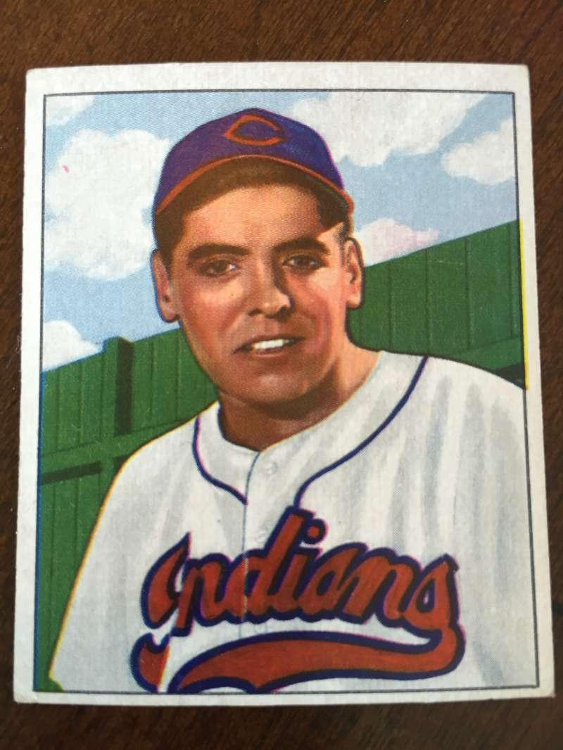 1950 Bowman #147 Mike Garcia Cleveland Indians EX A163