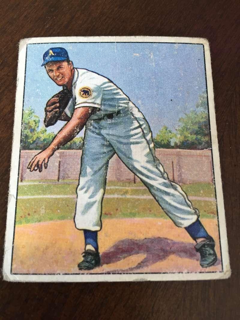 1950 Bowman #48 Lou Brissie Athletics Fair A21