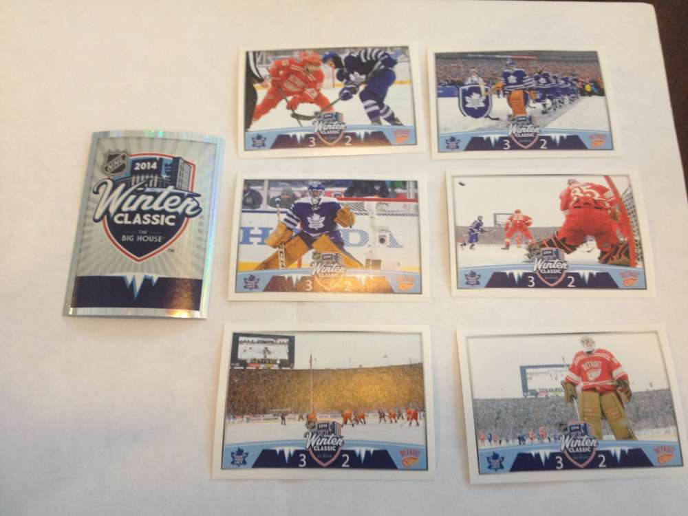 2014-15 Panini NHL Stickers Winter Classic Sticker Set w SP FOIL INCLUDED!