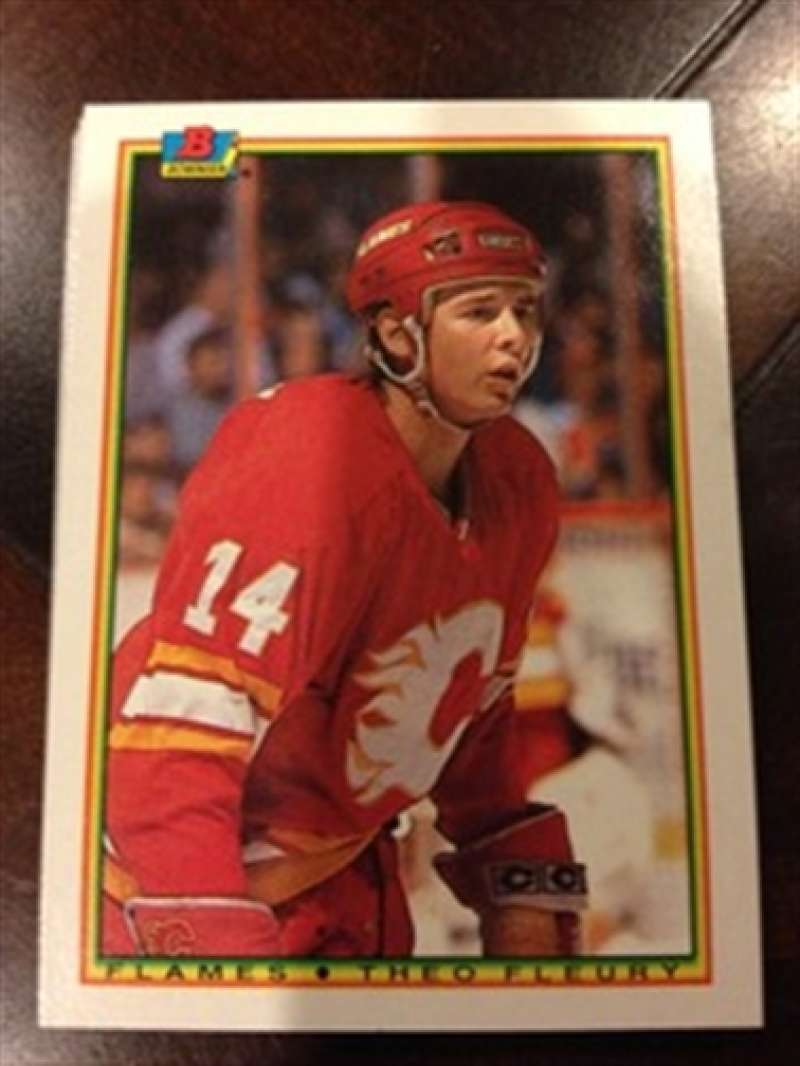 1990-91 Bowman Calgary Flames Team Set MINT