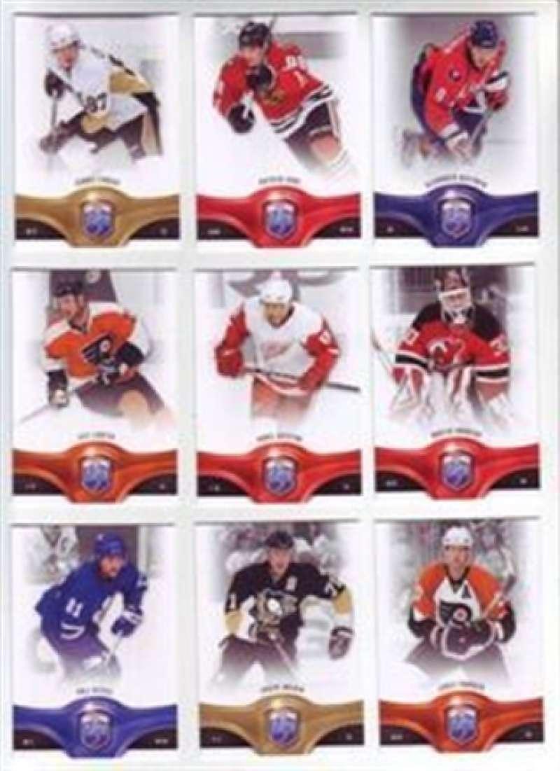 2009-10 Be A Player Calgary Flames Team Set 7 Cards