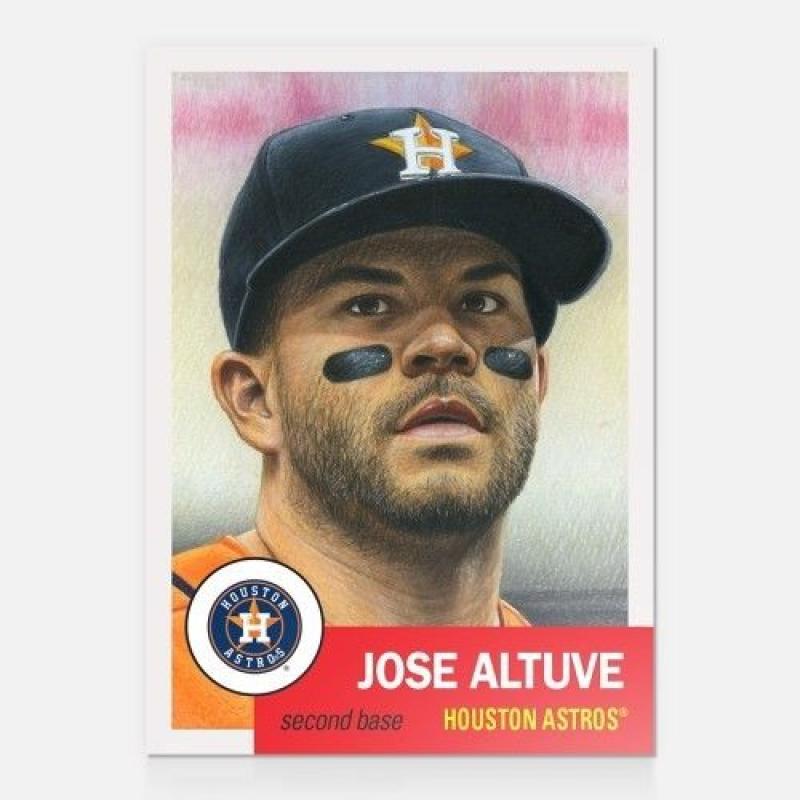 2018 Topps Living Set #16 Jose Altuve Houston Astros Baseball Card
