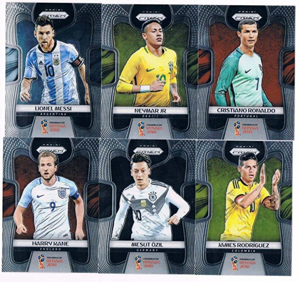 2018 Panini Prizm World Cup Complete Soccer Set of 300 Cards Lionel Messi Cristian Ronaldo Neymar Mbappe