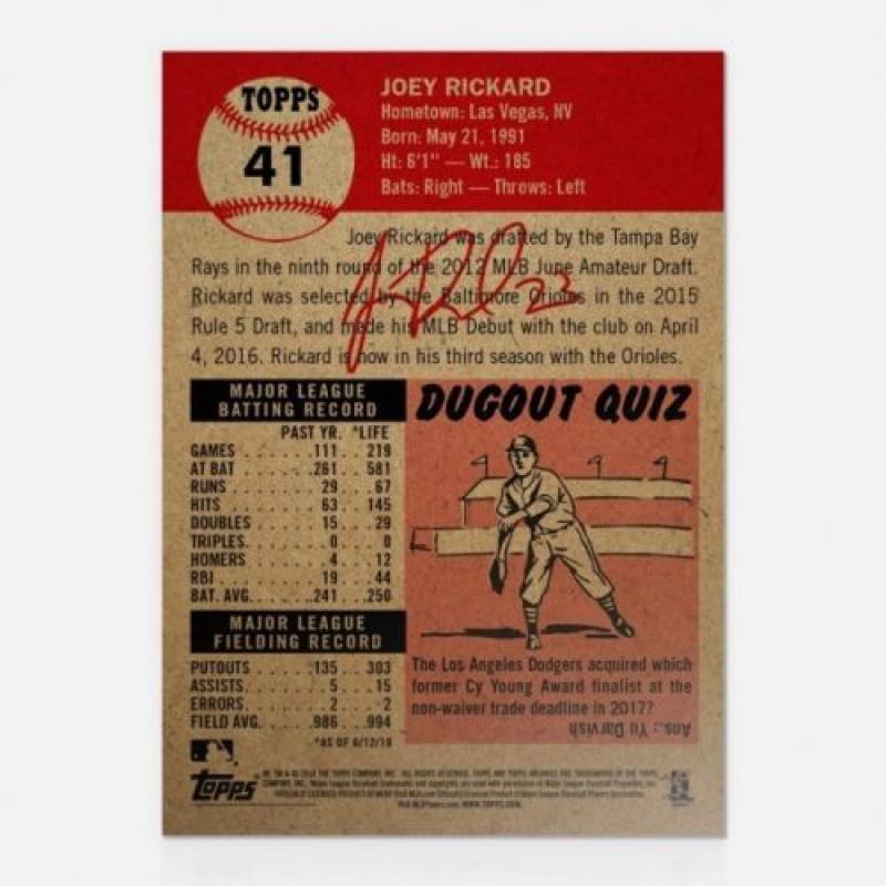 2018-2019-Topps-The-Living-Set-Baseball-MLB-Pick-Your-Cards-Lot-Finish-Set thumbnail 35