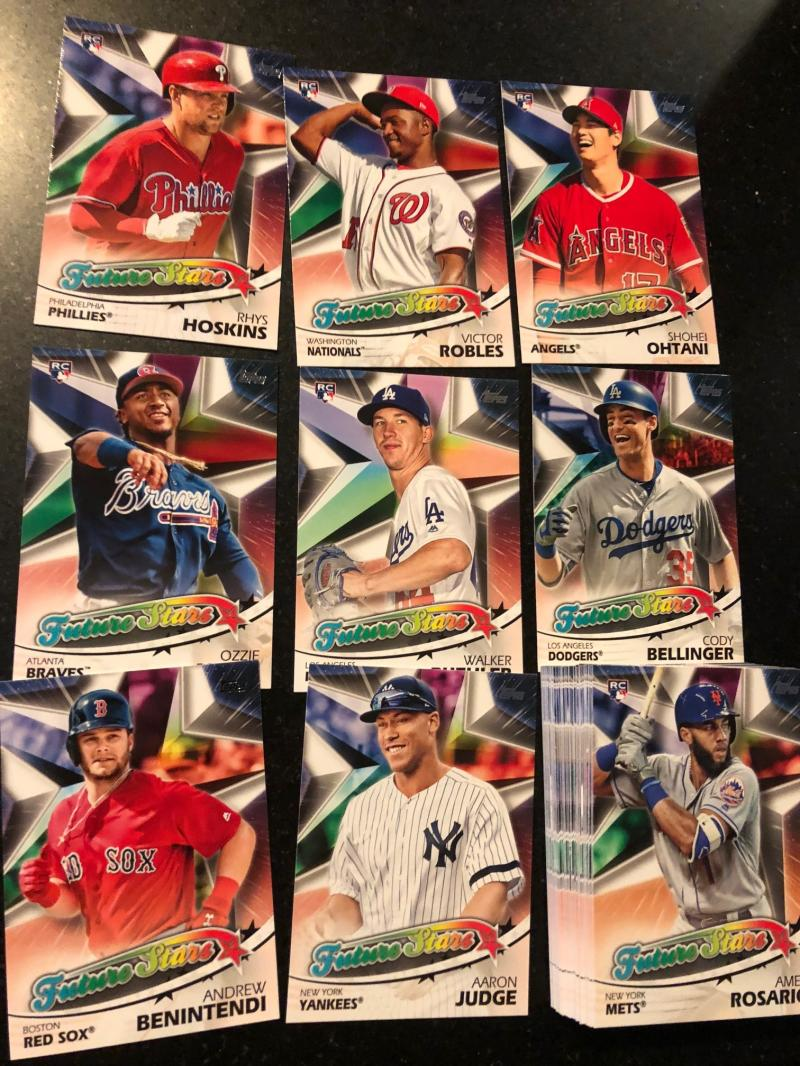 2018 Topps Series 2 Future Stars Insert Complete Baseball Set of 50 Cards Shohei Ohtani Albies Aaron Judge++