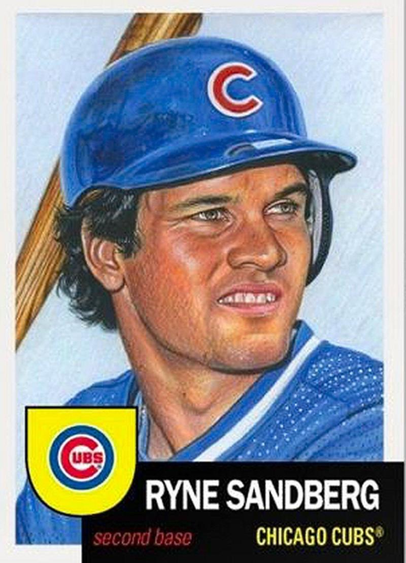 2018 Topps The Living Set #64 Ryne Sandberg Chicago Cubs Online Exclusive Baseball Trading Card SOLD OUT at Topps