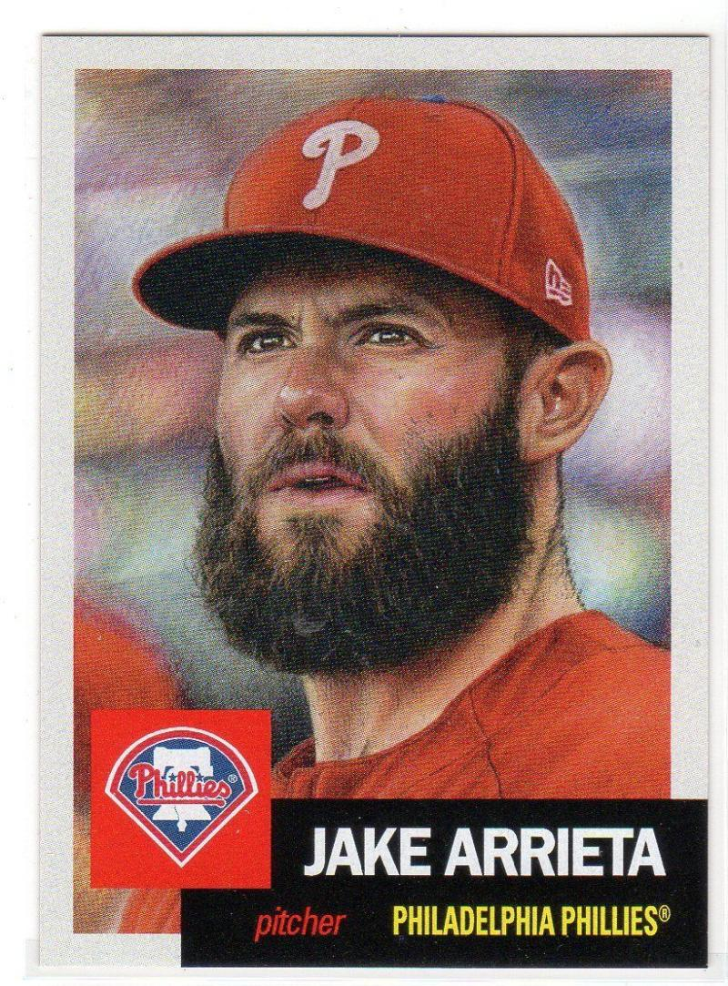 2018 Topps The Living Set #71 Jake Arrieta Philadelphia Phillies Online Exclusive Baseball Trading Card SOLD OUT at Topp