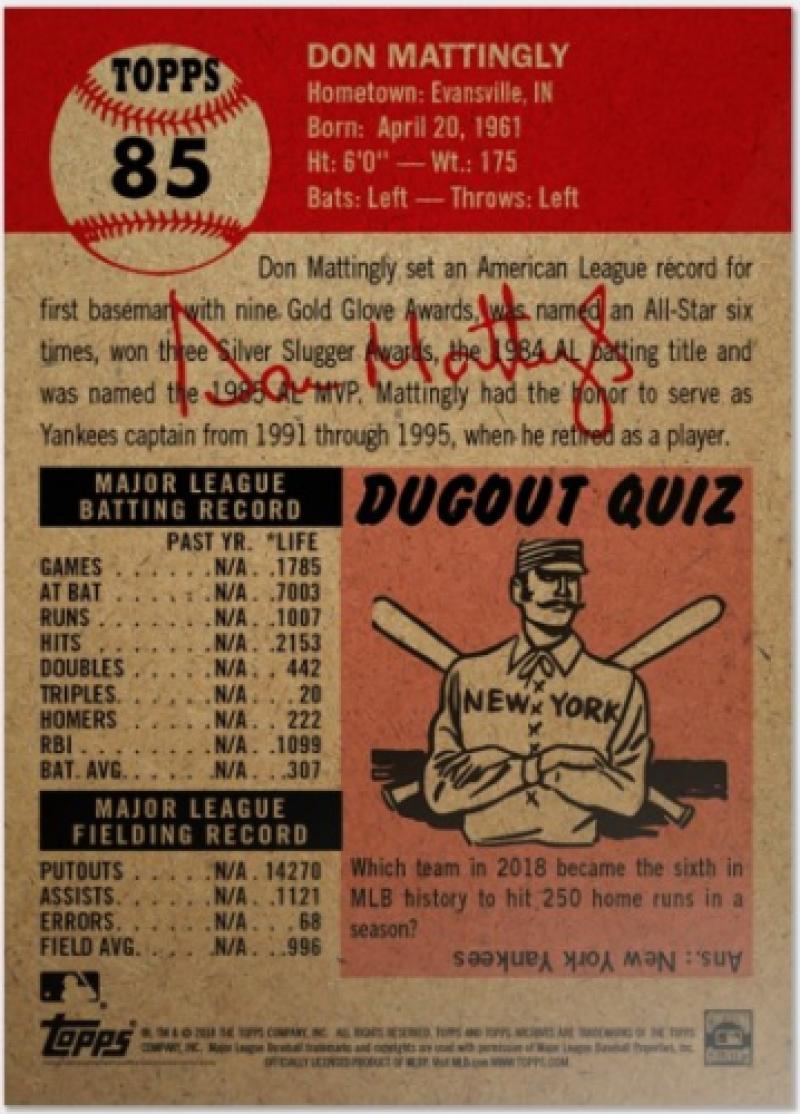 2018-2019-Topps-The-Living-Set-Baseball-MLB-Pick-Your-Cards-Lot-Finish-Set thumbnail 84