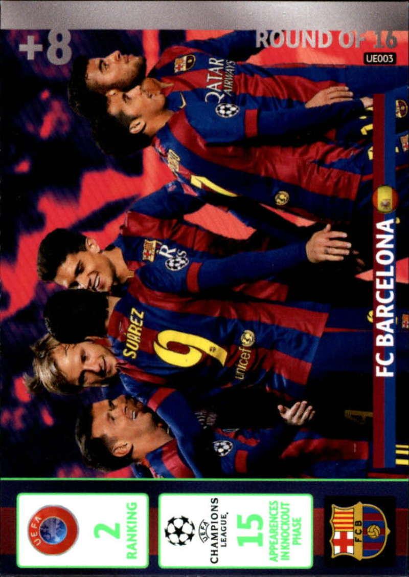 2014-15 UEFA Champions League Adrenalyn XL Update Edition Soccer #UE002 Club Atletico de Madrid Atletico Madrid  Official Futbol Trading Card by Panin