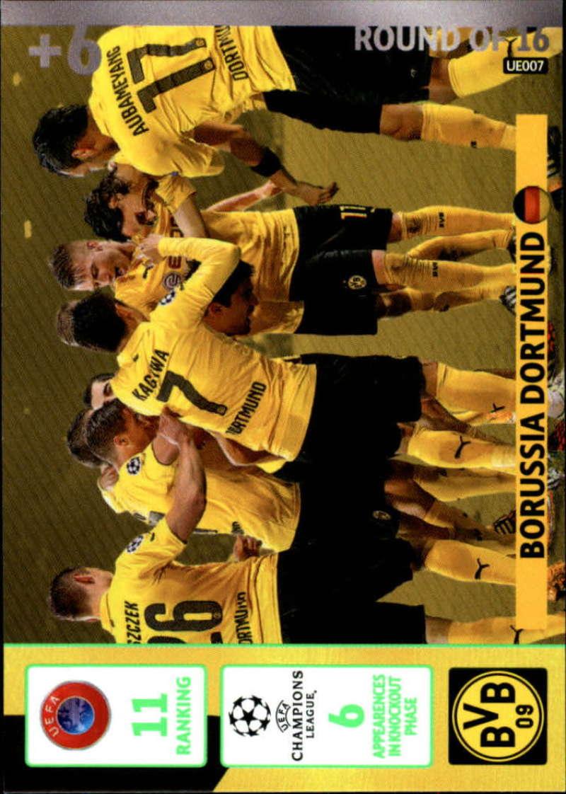 2014-15 UEFA Champions League Adrenalyn XL Update Edition Soccer #UE007 Borussia Dortmund Borussia Dortmund  Official Futbol Trading Card by Panini
