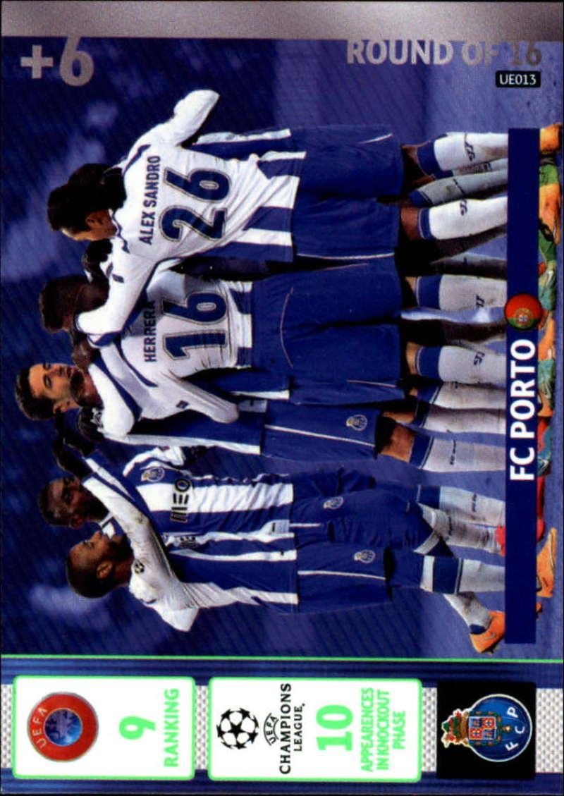2014-15 UEFA Champions League Adrenalyn XL Update Edition Soccer #UE013 Porto Porto  Official Futbol Trading Card by Panini