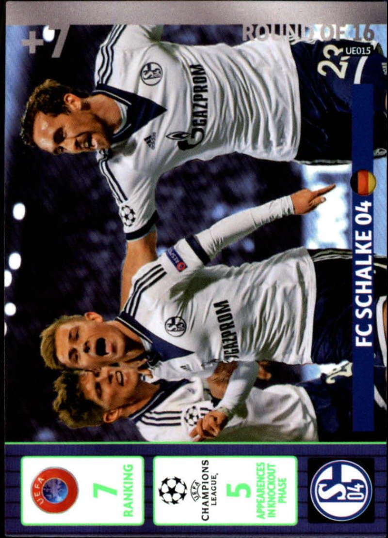 2014-15 UEFA Champions League Adrenalyn XL Update Edition Soccer #UE015 FC Schalke 04 FC Schalke 04  Official Futbol Trading Card by Panini