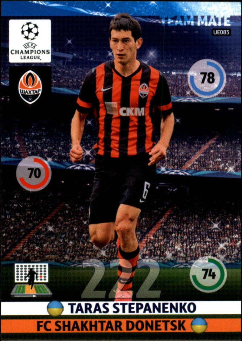 2014-15 UEFA Champions League Adrenalyn XL Update Edition Soccer #UE083 Taras Stepanenko Shakhtar Donetsk  Official Futbol Trading Card by Panini