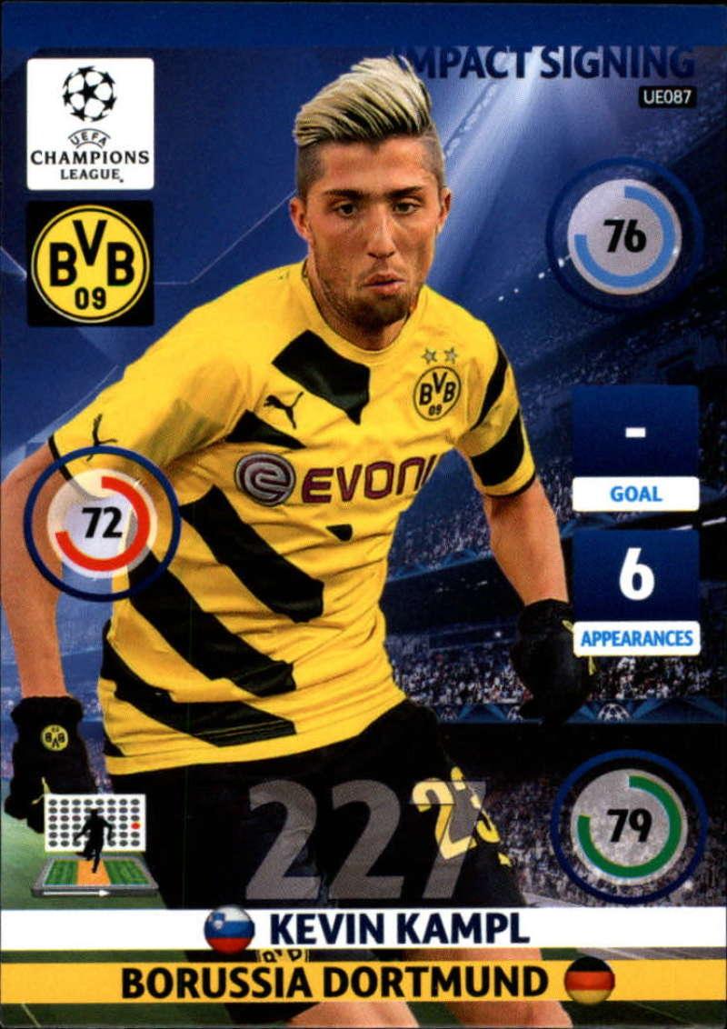 2014-15 UEFA Champions League Adrenalyn XL Update Edition Soccer #UE087 Kevin Kampl Borussia Dortmund  Official Futbol Trading Card by Panini