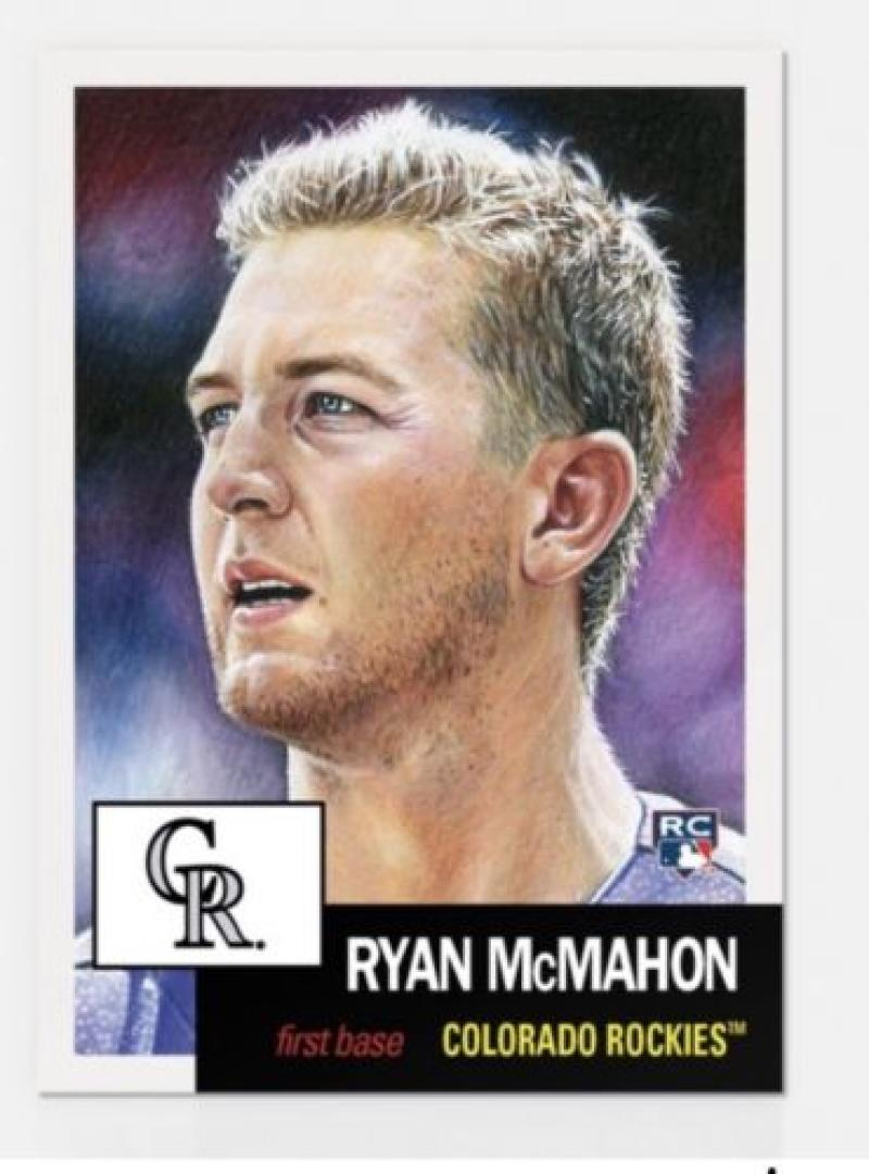 2018 Topps The Living Set Baseball #96 Ryan McMahon RC Rookie Colorado Rockies  Online Exclusive MLB Trading Card SOLD OUT at Topps
