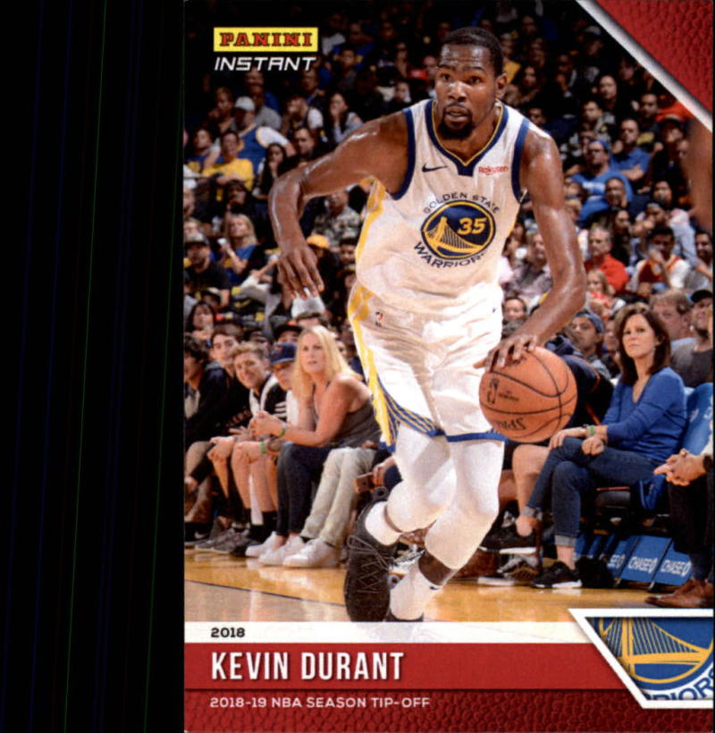 2018-19 Panini Instant NBA Basketball #5 Kevin Durant Golden State Warriors  Online Exclusive Print Run 330